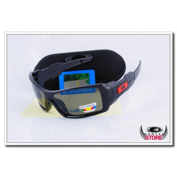 50cbd8fcc3e Cheap Fake Oakley Oil Rig Polarized Sunglasses Polishing Black Frame ...